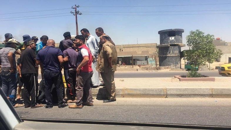 نجدة بغداد تكشف ملابسات حادث دهس مواطن فارق الحياة
