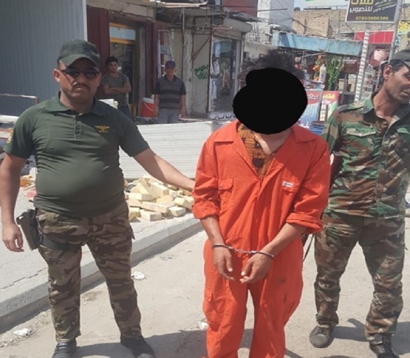 القبض على متهم سرق ثمانية ملايين دينار وسط الناصرية