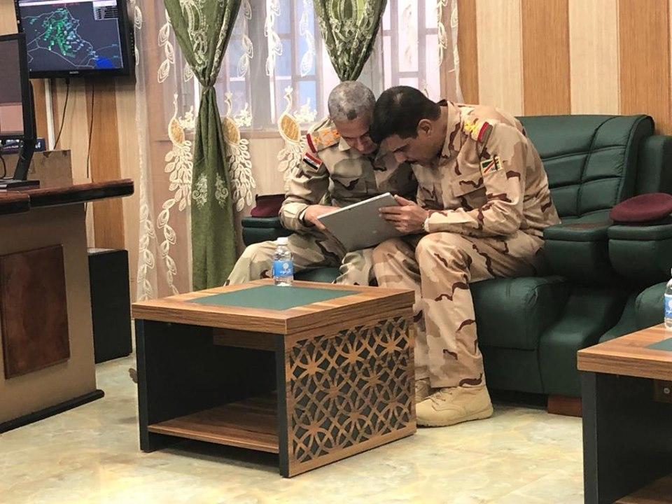 يار الله: تركيزنا منصب على تأمين الحدود الدولية