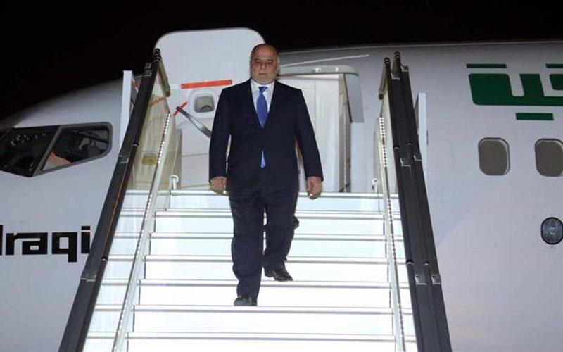 العبادي يصل بغداد قادما من انقرة