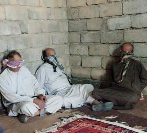 اعتقال ثلاثة ارهابيين متورطين بجريمة قتل رعاة الغنم في تلول الباج