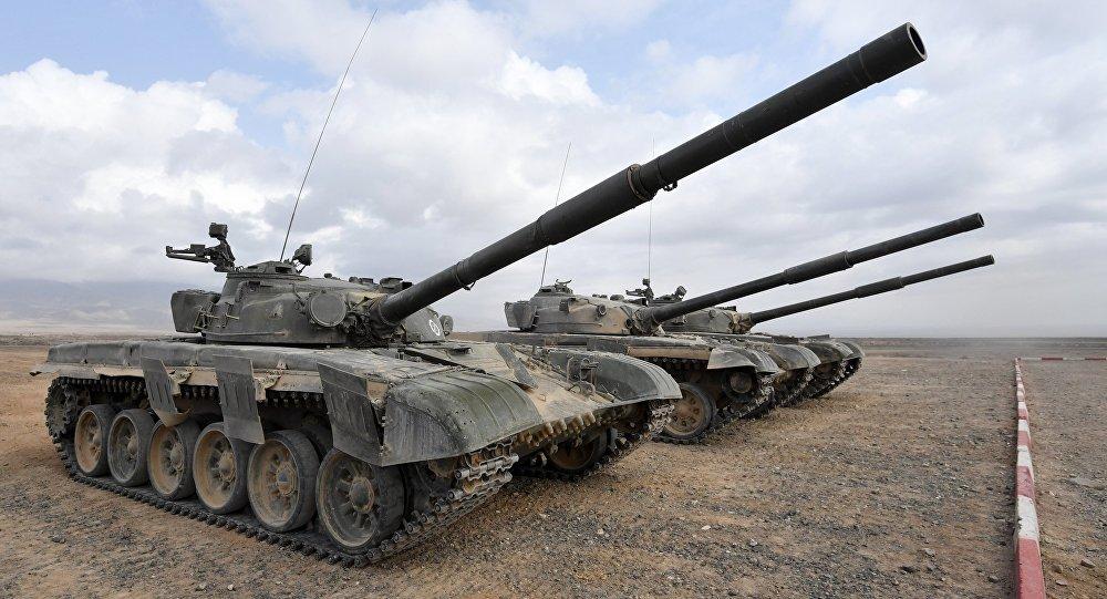 الجيش العراقي ينعش دبابات صدام حسين