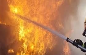 اندلاع حريق كبير داخل معامل للالبان بمنطقة عويريج