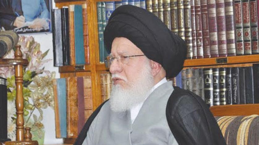 المرجع الصدر يطالب بحكومة تحارب الفساد و بعيدة عن المحاصصة والمذهبية