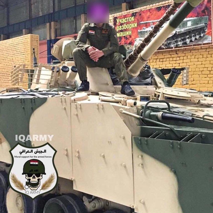العراقيون يقبضون على ناصية أحدث مركبة قتالية