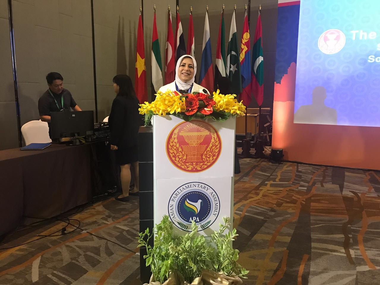 جمعية البرلمانات الآسيوية توافق على مقترح للعراق حول النساء