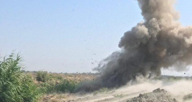تفكيك وتفجير 4 عبوات ناسفة في المشاهدة شمالي بغداد