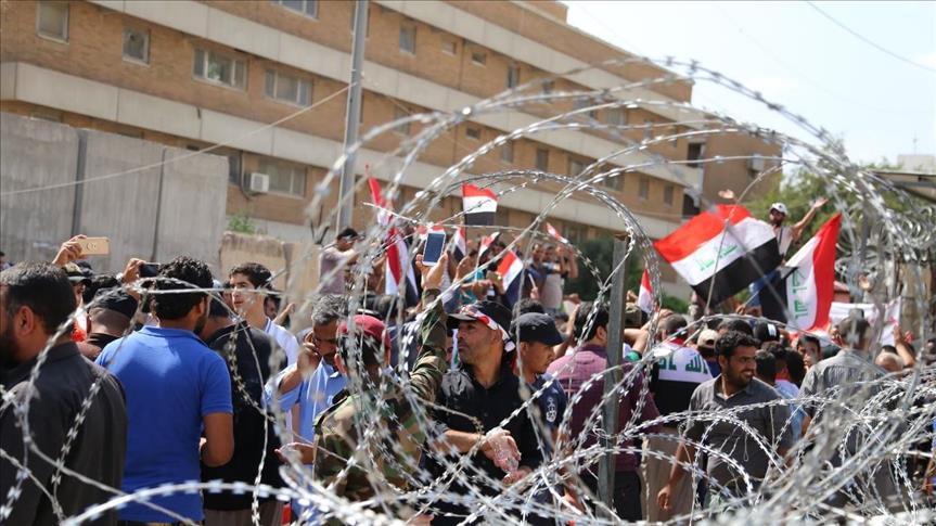 القوات الأمنية تفرض اجراءات مشددة وتفض اعتصاما في ناحية الامام ببابل